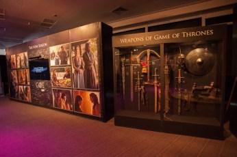 As armas de Game of Thrones.