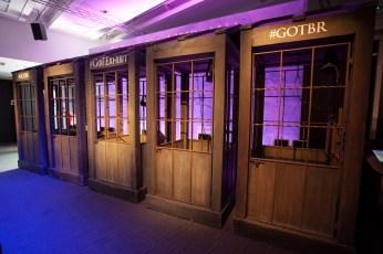 A principal atração da Exposição: os elevadores da Muralha