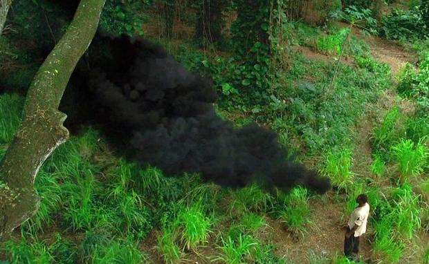 goleiro monstro de fumaca
