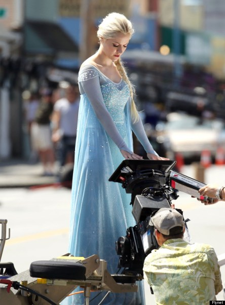 Stars Film 'Once Upon A Time' In Vancouver