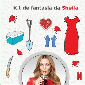 Kit de Fantasia da Sheila - Santa Clarita Diet
