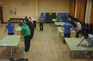 Disputando el torneo