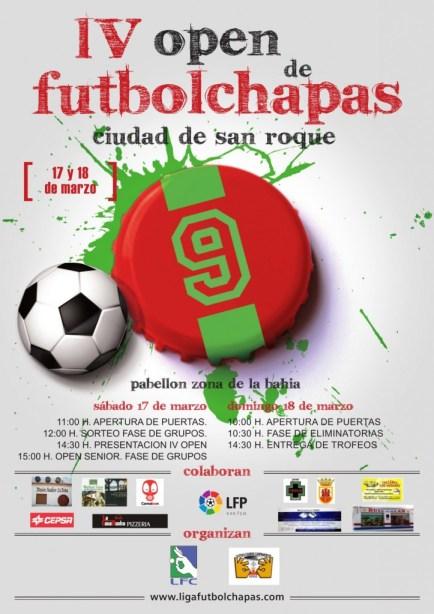 Cartel del IV Open Ciudad de San Roque