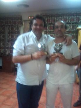 Juancar y Chavi se proclamaron campeones en Alcalá