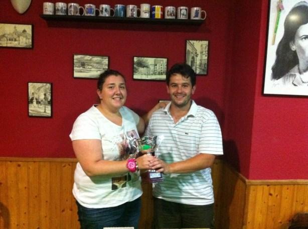 Juan R. Puchades campeón de la Copa Trinquet