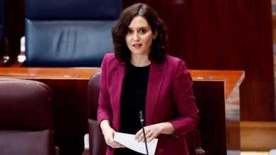 """صورة رئيسة حكومة مدريد تصف أقرار وزارة الصحة بأنه """"هجوم سياسي"""" وتعلن عن إجراءات قانونية محتملة"""