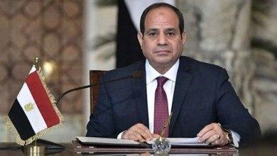 """صورة السيسي و القوات المسلحة المصرية ينعيان شهداء الوطن """"بئر العبد"""""""