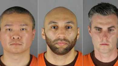 صورة تم فرض كفالة قدرها مليون دولار على الضباط الثلاثة المتهمين بالتواطؤ في وفاة فلويد