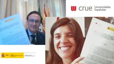 صورة وزير الدولة للتعاون الدولي والجامعات الإسبانية يوقعان اتفاقية تعاون جديدة