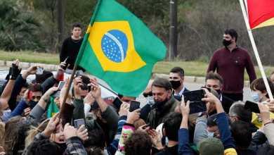 """صورة رئيس البرازيل اليميني المتطرف يتحدى فيروس كورونا مرة أخرى: """"هل أنت خائف من ماذا؟ واجهه!"""""""