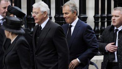 """صورة بلير ومايجور يصفان مشروع قانون جونسون بشأن خروج بريطانيا من الاتحاد الأوروبي بأنه """"مخجل"""" ويصفان موقفه بأنه """"غير مسؤول"""""""