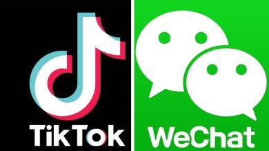 صورة ترامب لحماية الأمن القومي الإمريكي يحظر تنزيلات TikTok و WeChat اعتبارًا من يوم الأحد