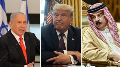 صورة ترامب المثالي يحقق صفقات العصر والبحرين ثاني دولة عربية تعيد العلاقات الدبلوماسية مع إسرائيل