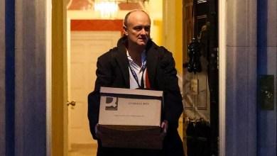 صورة عضو مجلس الحكومة ومستشار جونسون الرئيسي ومهندس انتصار بريكست يستقيل