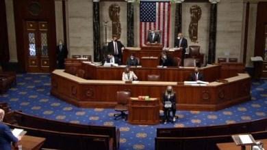 صورة مجلس النواب الأمريكي يبدأ الجلسة التي سيتم فيها التصويت على محاكمة ثانية لترامب