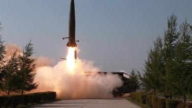 صورة كوريا الشمالية تعيد اختبار مقذوفات مجهولة الهوية من ساحلها الشرقي