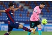 صورة بعد التعادل أمام ليفانتي.. آمال برشلونة في المنافسة على لقب الليغا تتبخر