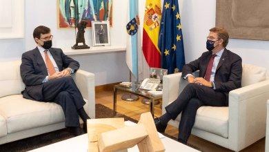 صورة وزير الدولة للاتحاد الأوروبي يزور الوكالة الأوروبية لمراقبة مصايد الأسماك ويلتقي مع رئيس حكومة شمال إسبانيا