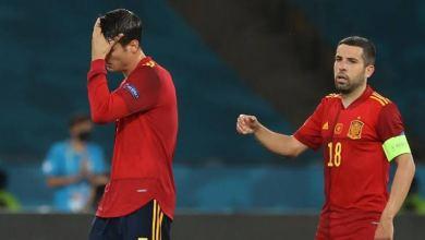 صورة الفريق الإسباني بلا قوة يثقل كاهل خياراته في التأهل ضد منافس مباشر وفي سولنا ينهزم من السويد (2-1)