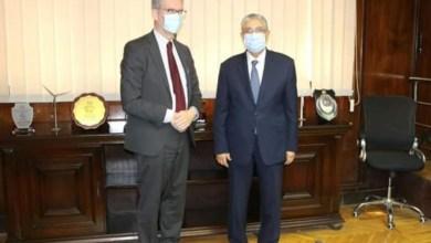 صورة سفير السويد بالقاهرة يبحث مع وزير الكهرباء سبل دعم وتعزيز التعاون بين البلدين