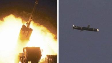صورة الإطلاق التجريبى للصاروخ المجنح بعيد المدى فى كوريا الشمالية