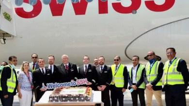 صورة سفارة سويسرا بالقاهرة تعلن وصول أول رحلة طيران سويسرية مباشرة بعد توقف دام خمس سنوات
