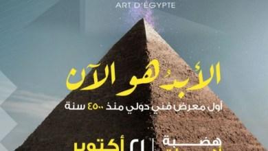 """صورة """"الأبد هو الآن"""" .. أول معرض مصرى عند هضبة الأهرامات بالجيزة الممتد عبر 4500 عام"""
