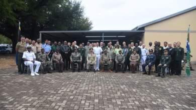صورة ملحقية الدفاع فى جنوب أفريقيا تحتفل افتراضيًا بالذكرى 48 لانتصارات حرب أكتوبر المجيدة