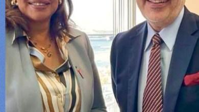 صورة سفير المكسيك بالقاهرة يحدد مع رئيس المركز المصرى للدراسات الاقتصادية فرص التعاون بين البلدين فى عدة مجالات