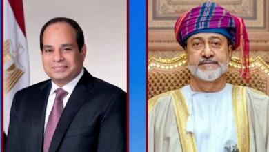 صورة سلطان عُمان يهنئ الرئيس السيسى بذكرى السادس من أكتوبر