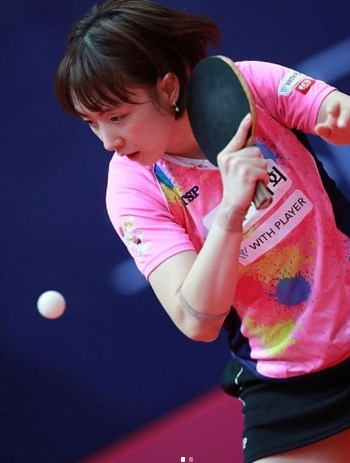 Asal Tenis Meja : tenis, Cantik, Banget,, Atlet, Tenis, Mirip, Artis, Korea, Olahraga