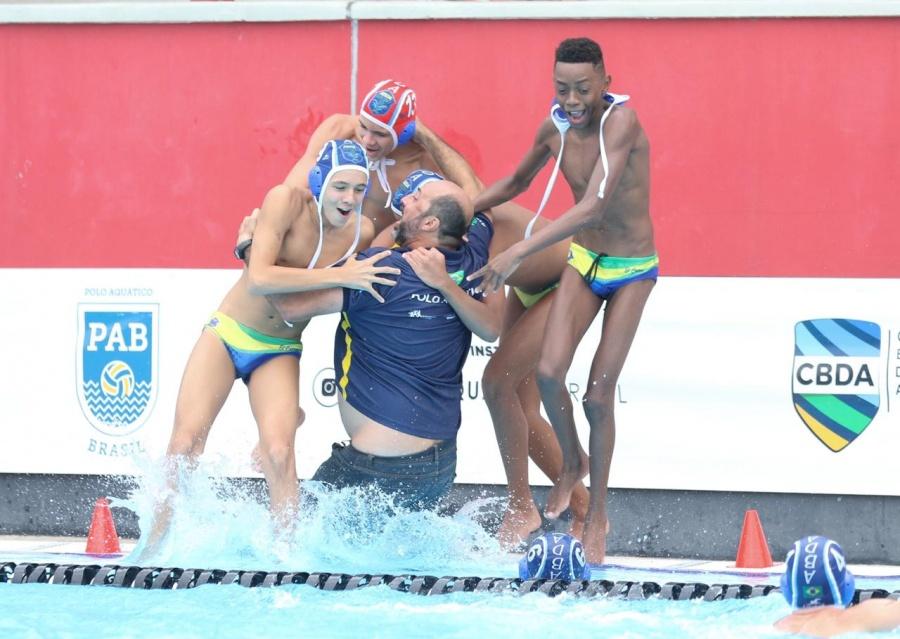 SHB e ABDA vencem Campeonato Brasileiro sub-14 de Polo Aquático