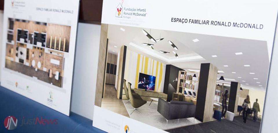 1º espaço familiar Ronald McDonald em Portugal