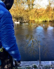 Vertical Jigging Through Ice