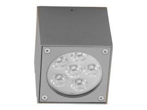 צמוד תקרה צילנדר פתרונות תאורה הגר אפור