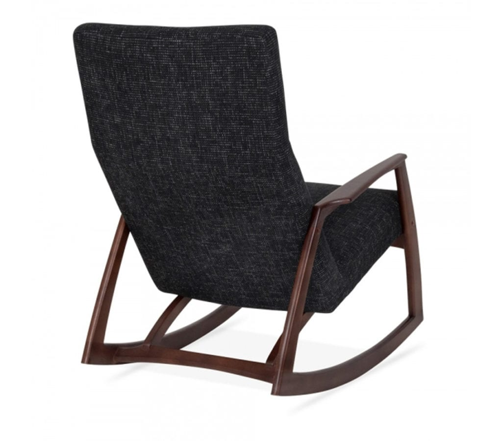 Grey Rocking Chair Sindi Wood Frame Rocking Chair In Dark Grey Light And Glory