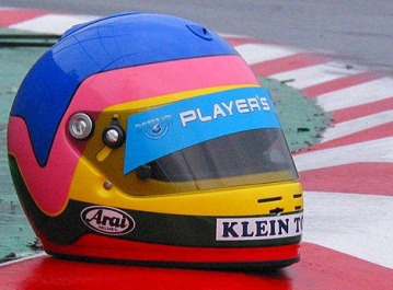 43 - Jacques Villeneuve - Helmet