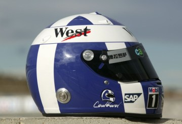 David Coulthard Helmet