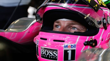 Jenson Button - Special Pink Rip Daddy Helmet