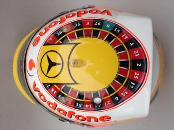 Lewis Hamilton - Monaco GP 2010 Helmet