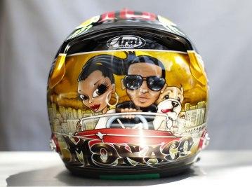 Lewis Hamilton - Monaco GP 2013 Helmet