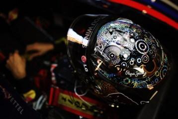 SINGAPORE - SEPTEMBER 24: Sebastian Vettel