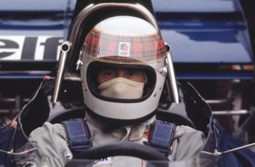 Jackie Stewart - Tartan Stripe Full Face