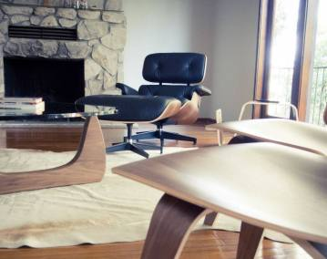 Lounge chair, Charles and Ray Eames, 1958