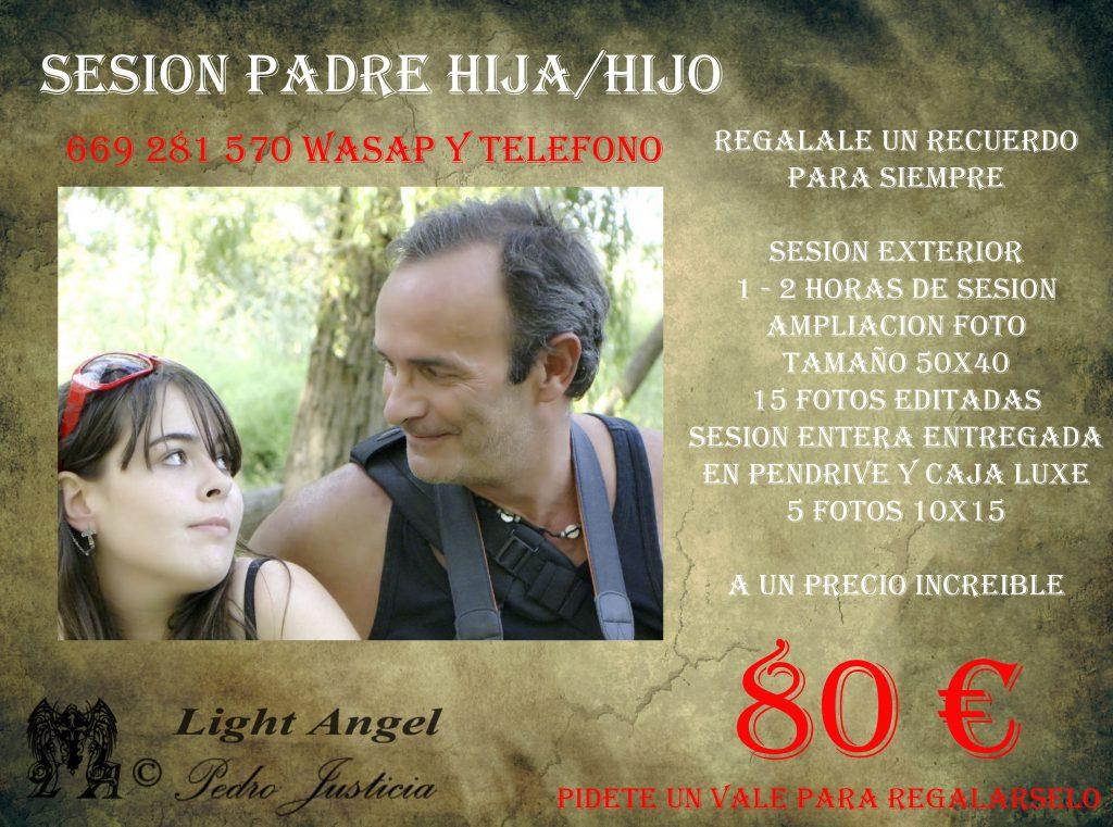 Sesión Día del Padre Lightangel