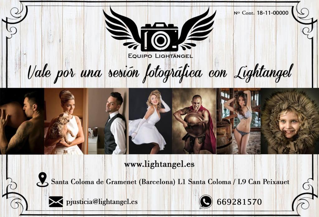 Vale por una sesión fotográfica con Lightangel