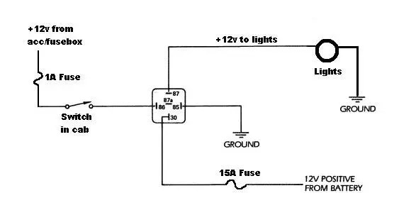 diagram light bar wiring diagram with relay full version hd