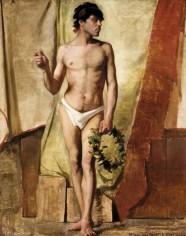 Academic Nude (c. 1884)