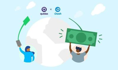 African Crypto Exchange, Quidax, Adds DASH to List of Digital Currencies