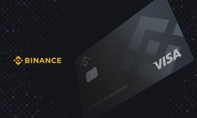 Binance crypto debit card being shipped to Europe